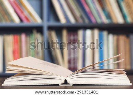 Open Book./Open Book - stock photo