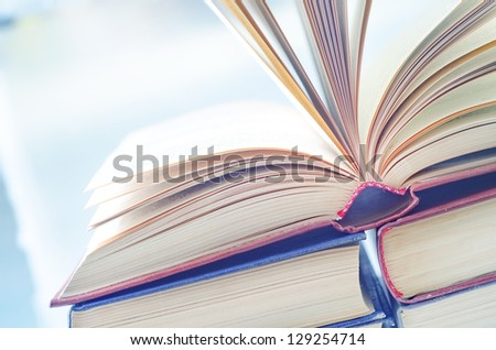 open books