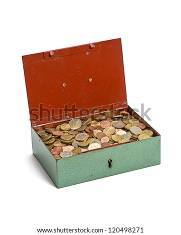 open cash box