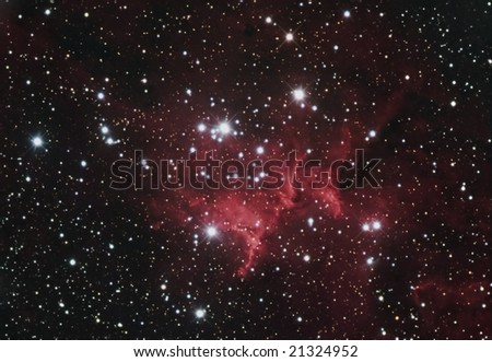 Open Cluster MEL15 - stock photo