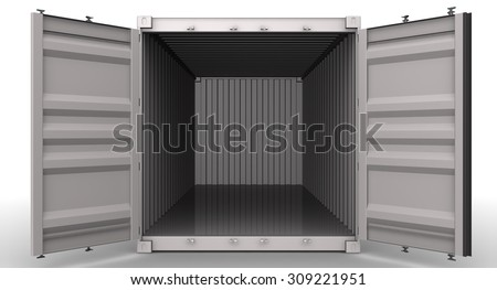 Two shut windows open blinds on stock photo 163212422 for Surface container