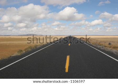 Open Highway - stock photo