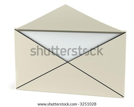open letter - stock photo