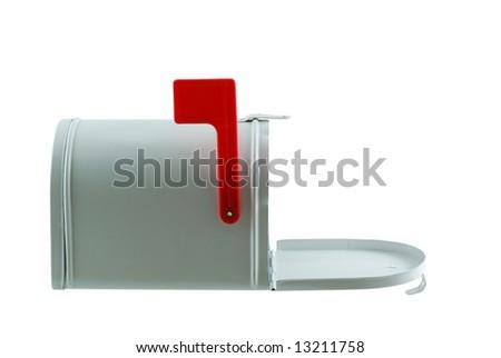 Open Mailbox - stock photo