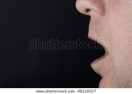 Open Mouth - stock photo