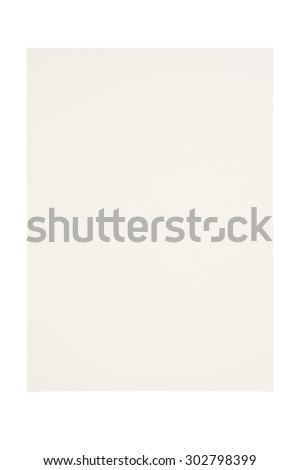 Open notebook isolated on white background and Clipping path