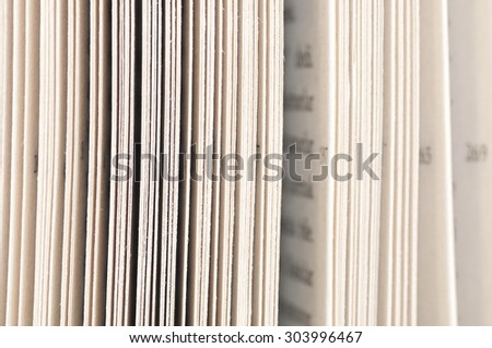Open Page Books Stock Photo 303996467 - Shutterstock