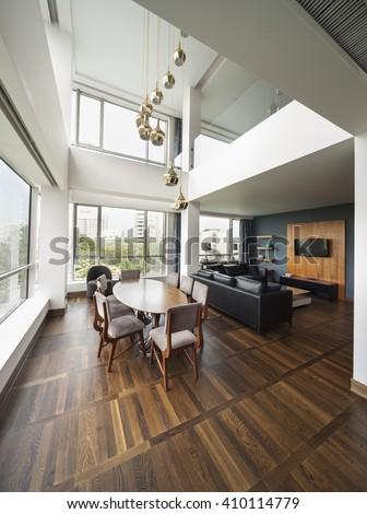 Duplex stock images royalty free images vectors for Luxury duplex plans