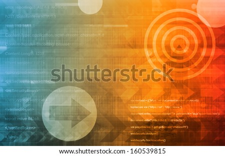 Open Source Technology or Technologies as Abstract - stock photo