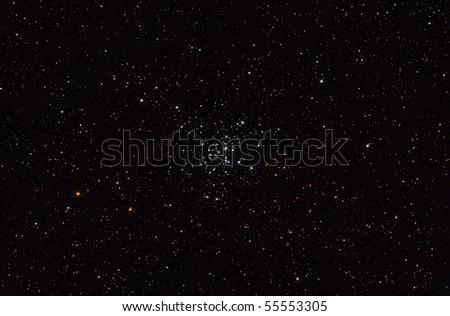 Open star cluster M36 in Auriga - stock photo
