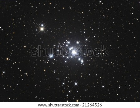 Open Star Cluster NGC1502 - stock photo