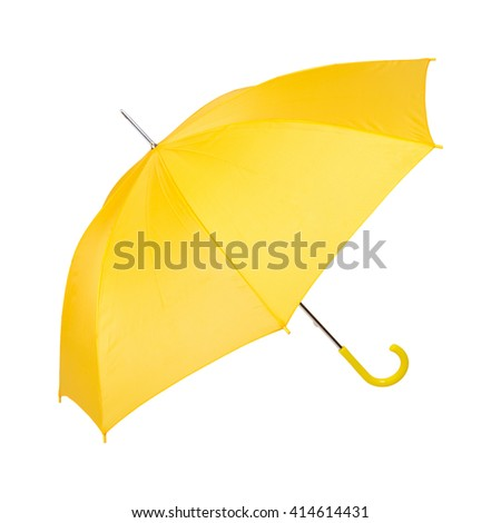 open umbrella. isolated on white background