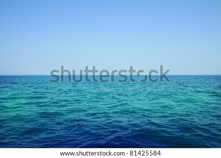 Open Water - stock photo
