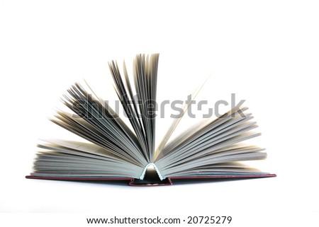 opened book - stock photo