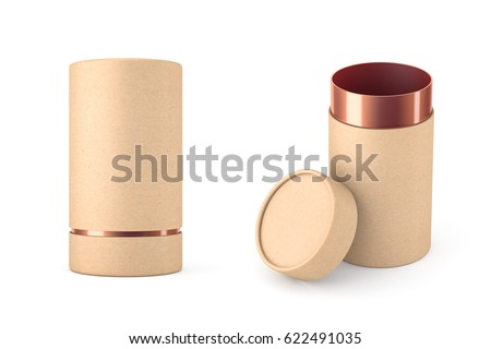Tube stock images royalty free images vectors for Kraft paper craft tubes