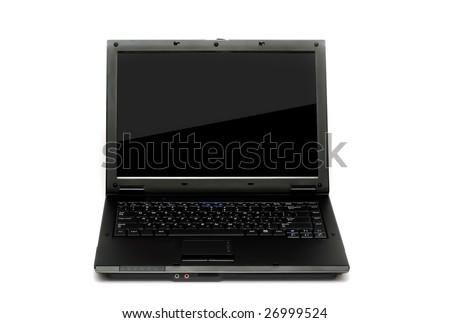 Opened notebook - stock photo