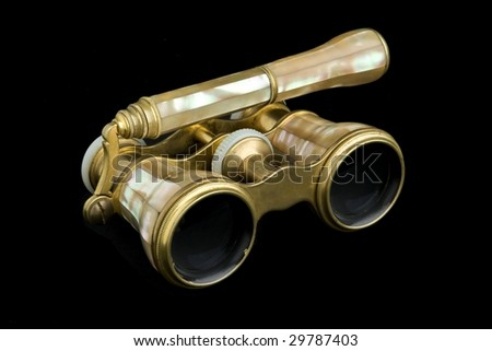 Opera Glasses - stock photo
