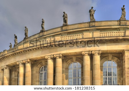 Opera of Stuttgart in Germany - stock photo