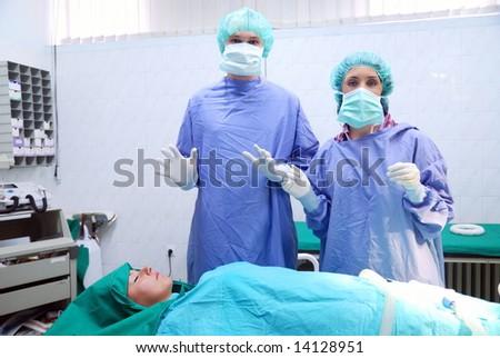 operation - stock photo