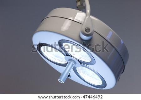 Operation lamp - stock photo