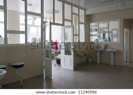 operative room - stock photo