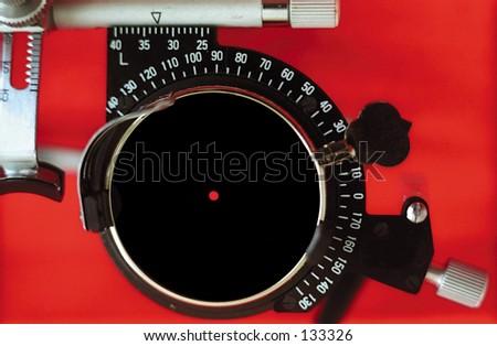 Ophtalmological tool - stock photo