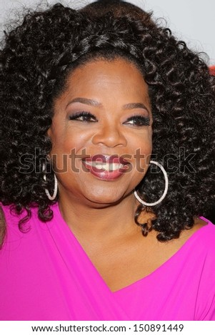 "Oprah Winfrey at ""Lee Daniels' The Butler"" Los Angeles Premiere, Regal Cinemas, Los Angeles, CA 08-12-13 - stock photo"