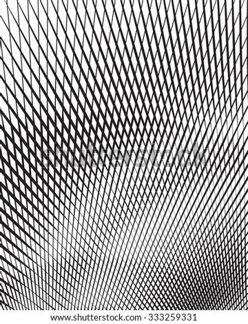 optical art background black and white   jpg version - stock photo