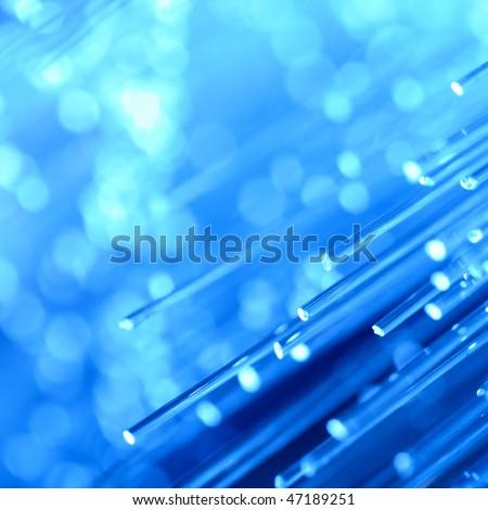 optical fibre - stock photo