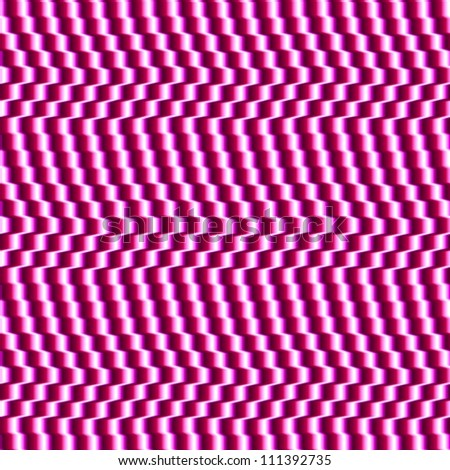 Optical Illusion Seamless Cafe Wall Texture Fuchsia Black and White - stock photo