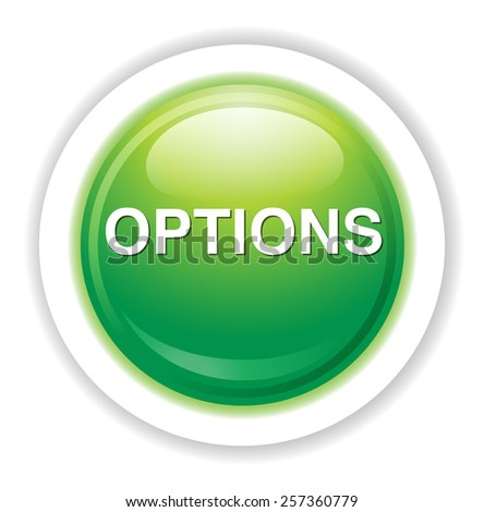 Option button - stock photo