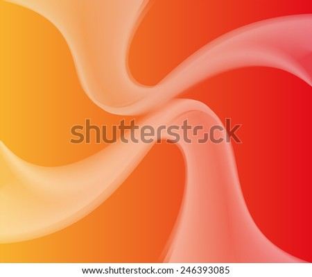 Orange Abstract background template - stock photo