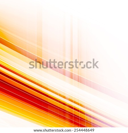 Orange Abstract Digital Generated Background Design