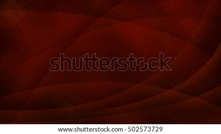 orange and black abstract background with smooth lines