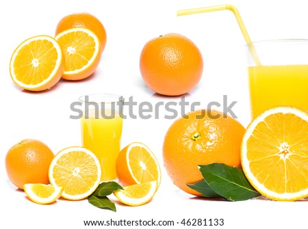orange and juice collection