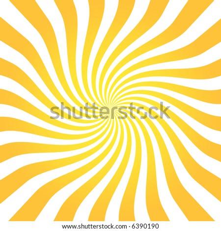 Orange and white background - stock photo