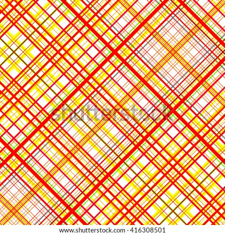 Orange and yellow vibrant colors grid pattern. - stock photo