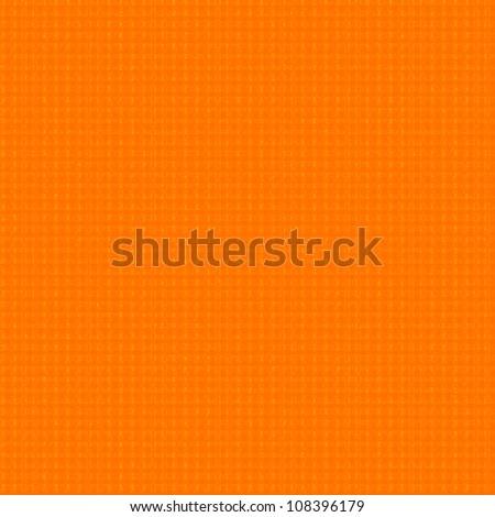 orange background, upholstery fabric texture pattern - stock photo