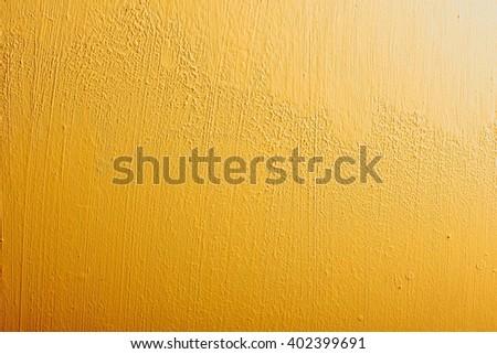 Orange background wall texture. - stock photo