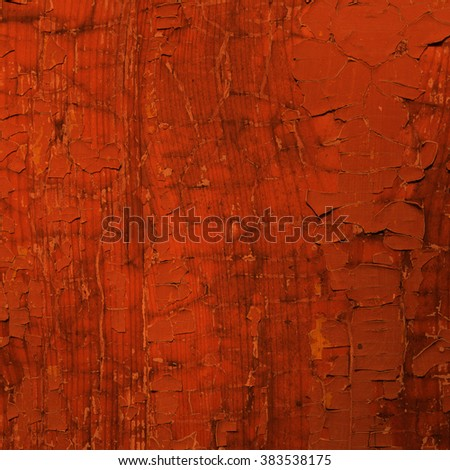 orange background wood texture paint
