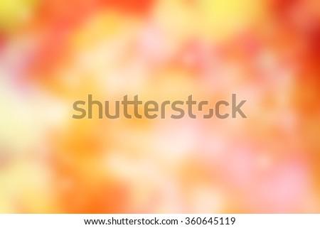 orange blur - abstract blurred background - stock photo