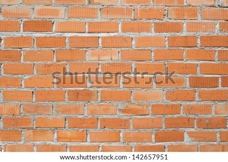 Orange Brick Wallpaper Texture Background