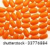 orange candy texture - stock photo