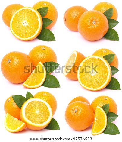 Orange collection
