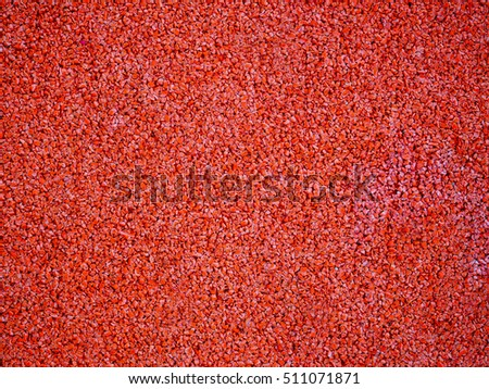 Orange color asphalt abstract texture background.