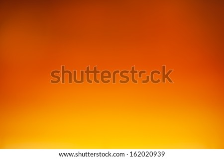 orange color with shade background - stock photo