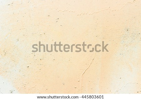 Orange concrete wall for your background. Texture - stock photo