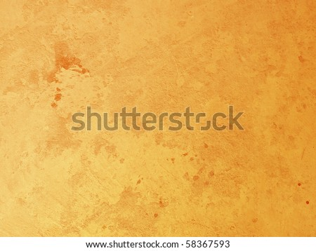 Orange concrete wall Texture - stock photo