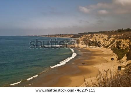 Orange County Coast - stock photo