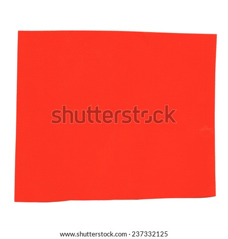 Orange fabric samples for tensile tension structures - matte and gloss texture